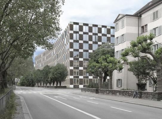 EX-M, Wohnsiedlung Seebahnstrasse Zürich-Aussersihl