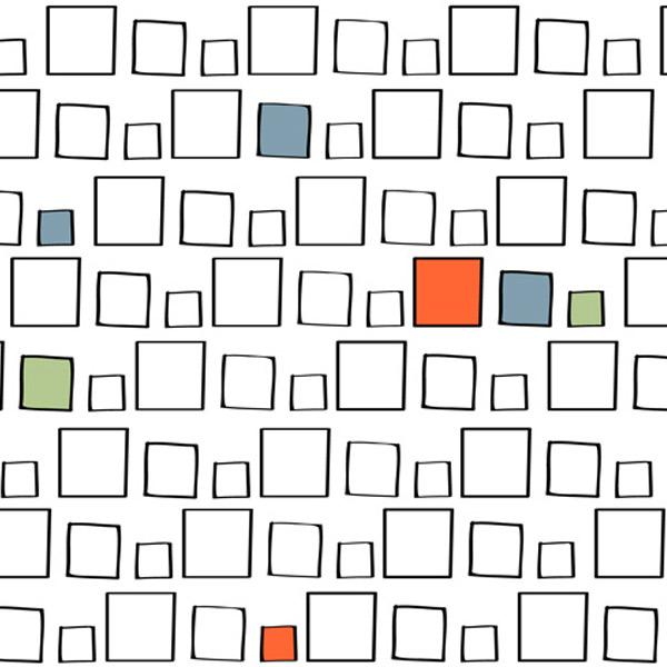 Alessandra Spada prints, Squarepattern