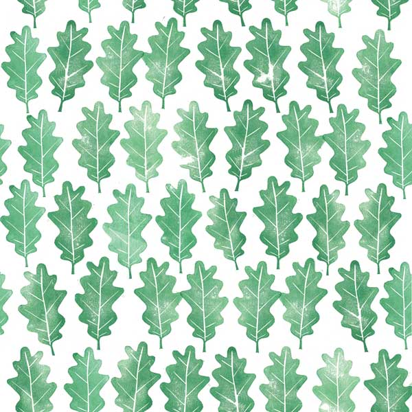 Alessandra Spada hand print green oak