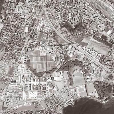 EX-M Architetti. Planimetria generale