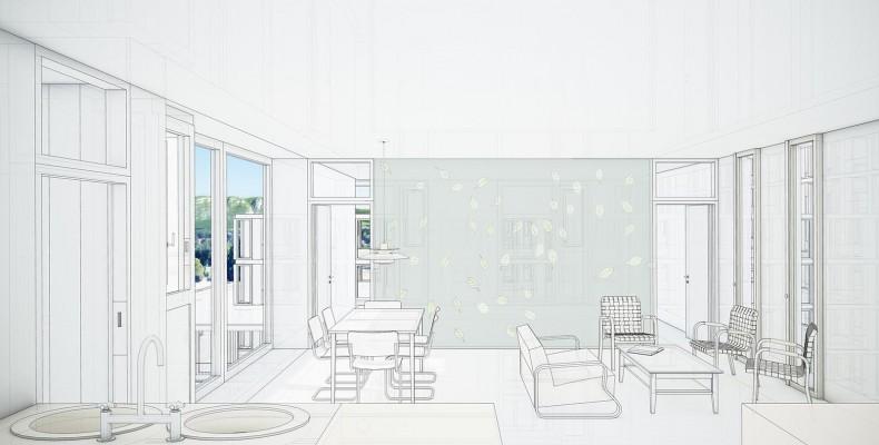 EX-M Architetti. Vista interna